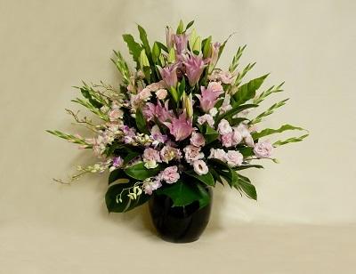 画像1: 演台横つぼ花