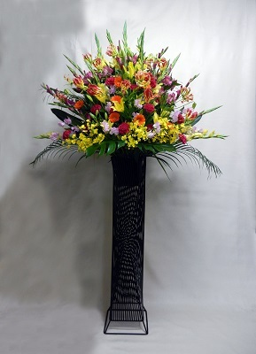 画像1: お祝い用スタンド花